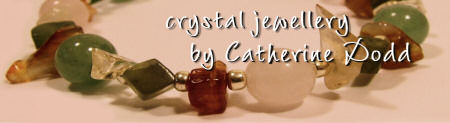 Crystal jewellery by Catherine Dodd