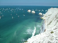 Needles, Isle of Wight - Round the Island Yacht Race